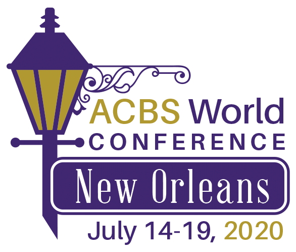 ACBS World Conference 18 - New Orleans, USA, July 14-19