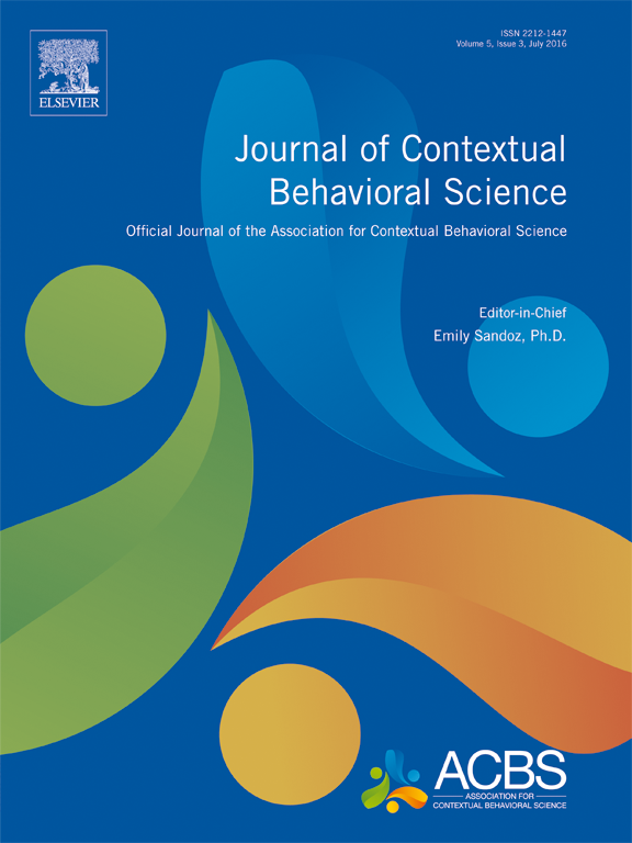 the journal of contextual behavioral science (jcbs) | association, Sphenoid
